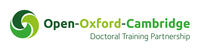 Green logo for the Open Oxford Cambridge Doctoral Training Partnership